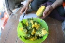 Preparing The Kavu Taco