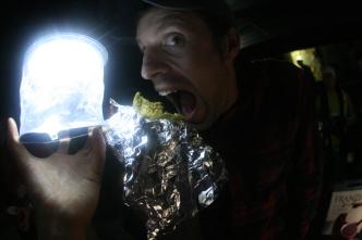 Luci Lighting the KAVU Taco Kill