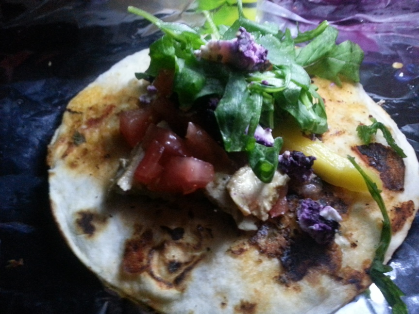 Blue Mexican Taco: 12F &Cooking.