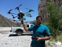 Hexacopter thingy with GoPro